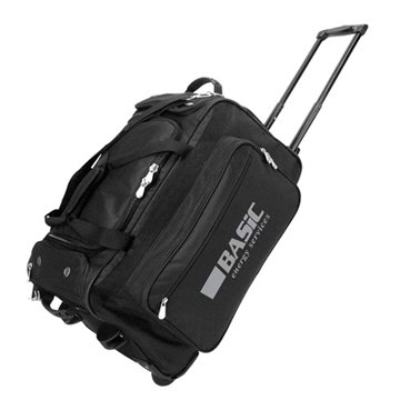 600D Polyester Rolling Travel Bag 22 x 12 x 13