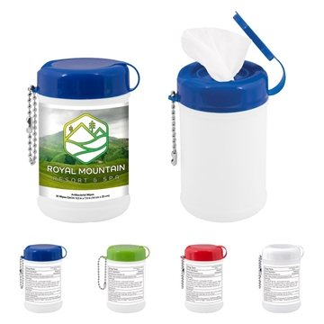 Mini Canister Of Wet Wipes
