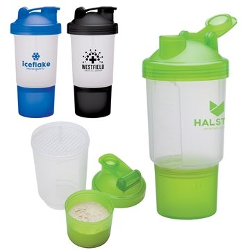 Buff 16 oz Fitness Shaker Cup