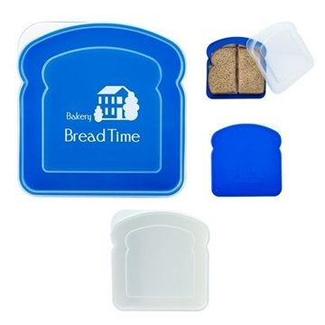 BPA-Free Sandwich Container with Snap Lid