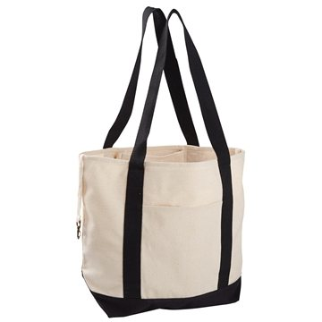 Econscious 12 oz Organic Cotton Canvas Boat Tote Bag
