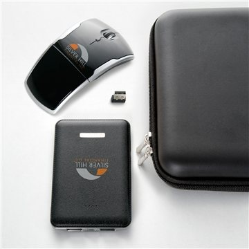 Power Bank And Wireless Mouse Gift Set