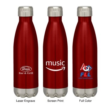 17oz Stainless Steel Insulated Cola Bottle