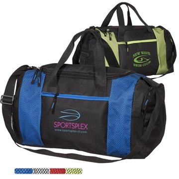 600D Polyester Porter Duffel Bag with PVC Backing
