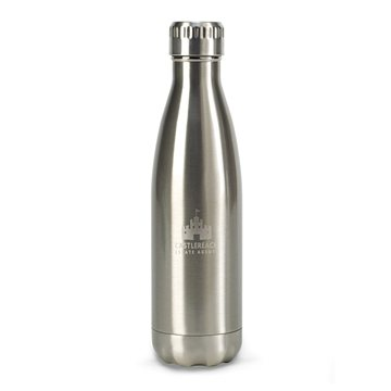 Oasis Double Wall Stainless Bottle - 17 oz - Stainless Steel