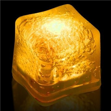 Blank Lited Ice Cubes - Yellow