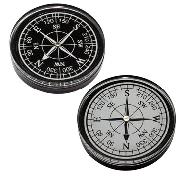 Small Resin Compass Paperweight