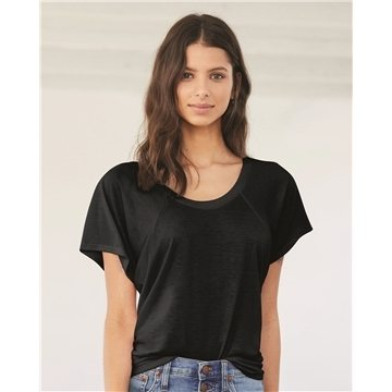 Bella + Canvas - Women's Flowy Raglan Tee - 8801
