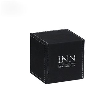 Cube Paperweight - Black