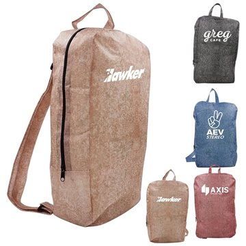 Non Woven Stone Design Backpack
