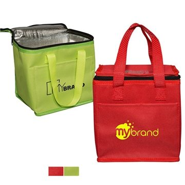 600D Polyester Square Lunch Cooler