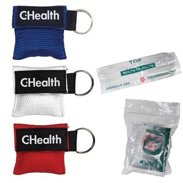 Disposable CPR Mask with Pouch