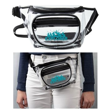 Clear Stadium Fanny Pack