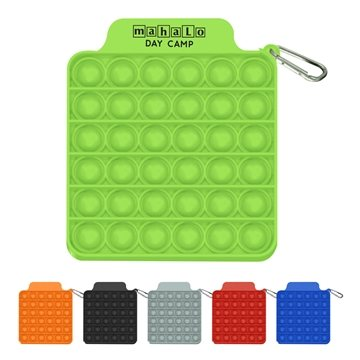 100 Push Pop Square Stress Relievers
